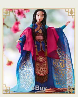 2018 Disney Store Mulan Poupée 17' Limited Edition 5500 Shanghai Disneyland