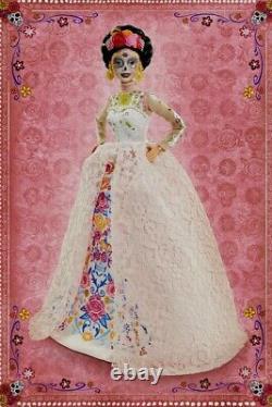 2020 Barbie Dia De Los Muertos (jour Des Morts) Dotd 2 Pink Doll Ships Maintenant