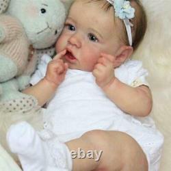 22 55cm Bebe Reborn Dolls Handmade Reborn Baby Doll Vinyl Boneca De Noël