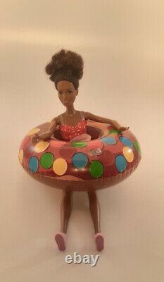 3 Barbie Ou Lol Poupée Floats Gonflables Piscine Poupée Meubles