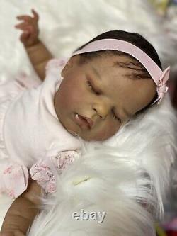 A Biracial Reborn Baby Doll Alexis