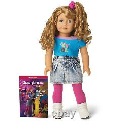 American Girl Courtney Moore Doll & Book New In Box Bonus Poster