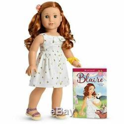 American Girl Doll Blaire Wilson Doll Et Livre 2019 Nouveau