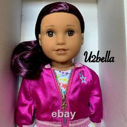 American Girl Doll Truly Me 86 Cheveux Violet Foncé Même Jour Navire! S'il Vous Plaît Lire Nouveau