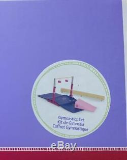 American Girl Gym Set Poutre & Bar / Gymnastique Set Nouveau Dans La Boîte Pour Doll