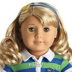 American Girl Lanie Doll & Livre Poupée De L'année 2010 Jour Même Rapide Shipping