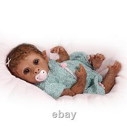 Ashton Drake Clementine Needs A Cuddle Baby Monkey Doll Par Linda Murray New Nib