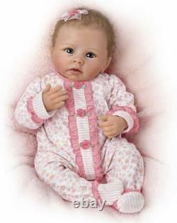 Ashton Drake Katie Baby Doll Respire Coos A Heartbeat Nouveau Cadeau Si Vraiment Réel