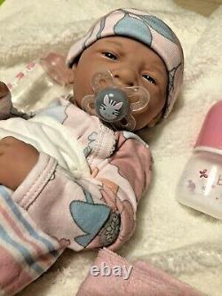 Aww! C'est Baby Girl ! Berenger Life Like Reborn Preemie Pacifier Doll +extras Berenger Life Like Reborn Preemie Pacifier Doll +extras Berenger Life Like Reborn Preemie Pacifier Doll +extras Beren