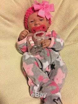 Aww! Perfect Bébé! Berenguer Lifelike Nouveau-né Pacifier Doll + Reborn Extras