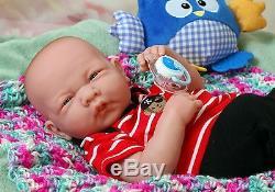 Baby Boy Doll 14 Berenguer Réel Vivant En Vinyle Souple En Silicone Prématuré Lifelike