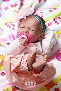 Baby Girl Berenguer Life Like Reborn Preemie Pacifier Doll +extras Accessoires