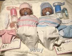 Baby Twins Reborn Doll Berenguer 14 Preemie Vinyl Preemie Vie Comme Boy/ Girl
