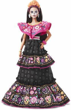 Barbie 2021 Femme Dia De Los Muertos Jour De La Poupée Morte Mattel - In Hand