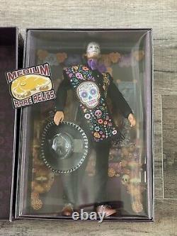 Barbie 2021 Ken Dia De Los Muertos Jour De La Poupée Morte Mattel - In Hand