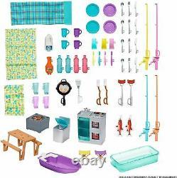 Barbie 3-en-1 Dream Camper Van Et Accessoires