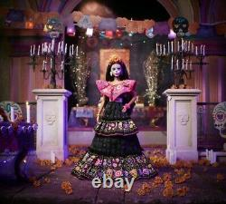 Barbie Dia De Los Muertos 2021 Doll Day Of The Dead By Mattel Factory Seeled