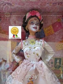 Barbie Dia De Los Muertos Day Of The Dead Doll Dotd 2020 Rose Dans La Main Fast Ship