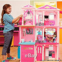 Barbie Doll Dream House Meubles 70+ Accessoires Ascenseur Kid Enfants Fun Play