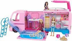 Barbie Dream Camper Pops Out Play Set Piscine Entièrement Meublé Brand New 2020