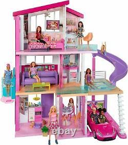 Barbie Dream House Doll House Avec 70+accessoires+ascenseur Accessible+piscine