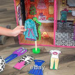 Barbie Dream House Taille Dollhouse Meubles Filles Playhouse Fun Play Maison De Ville