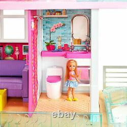 Barbie Dreamhouse Dollhouse Avec Piscine Slide Et Ascenseur 3 Ans Et Plus