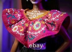 Barbie & Ken 2021 Dia De Los Muertos (jour Des Morts) Doll Set In Hand
