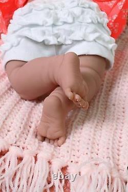 Bébé Fille Smileing Soft Doll Real Reborn Berenguer 15 Pouces Vinyl Lifelike Alive
