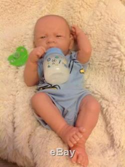 Bébé Real Boy Toy Prématuré Reborn Nouveau-né 14 Preemie, Vinyle Life Like