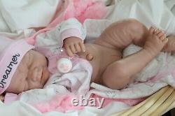 Bébé Rêveur! Berenguer Life Like Reborn Preemie Pacifier Doll + Extras