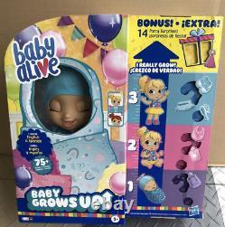 Bébé Vivant Bébé Grandit + Bonus Pack Doll Happy Hope Ou Merry Meadow Nouveau Dans La Boîte