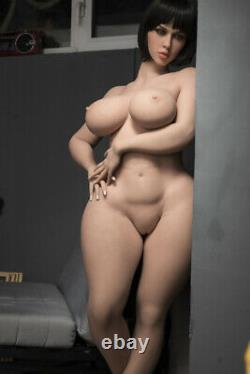 Big Boob Tpe Jouets Pour Adultes Le Corps Avec Skeleton Bbw Sex Doll Pour Hommes Tan Peau