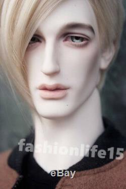 Bjd 1/4 Poupée David Kuncci Garçon Avec Des Yeux Libres + Visage Maquillage Résine Homme