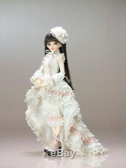 Bjd Doll 1/4 Fille Libre De Maquillage + Yeux Résine