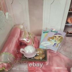 Bratz World House Bed Set Htf Playset Poupée Meubles De Chambre Miroir Lampe Nrfb