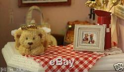 Bricolage Miniature Artesanat Projet Poupées En Bois Maison Contes De Fées De Bébé Ours Boutique