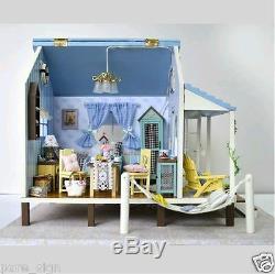 Bricolage Miniature Artesanat Projet Poupées Maison En Bois Musique Le Kit Coast Happiness