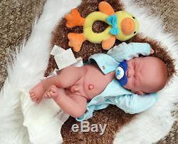 C'est Un Bébé! Pleurer Preemie Berenguer Life Like Doll + Sucette Réincarné Extras