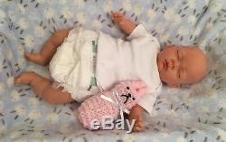 Charlotte Born Baby Adapté Aux Enfants Reborn Poupée Mignonne Bébés
