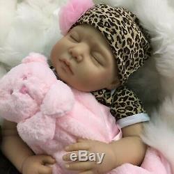 Cherish Dolls Childs 1er Reborn Bébé Lola Fake Bébés Réaliste 22 Né