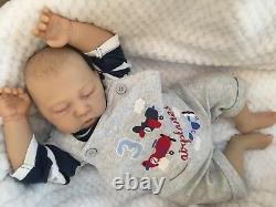 Cherish Dolls Reborn Doll Baby Boy Daniel Realistic 18 Real Lifelike Childs Uk