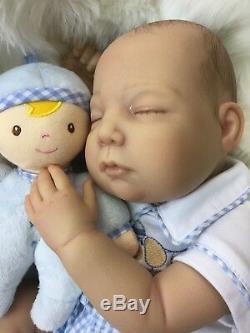 Cherish Poupées New Charlie Réincarné Un Bébé Faux Réaliste 22 Big Boy Du Nouveau-né