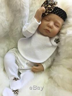 Cherish Poupées New Reborn Baby Doll Aria Bébés Faux Réaliste 22 Du Nouveau-né Fille