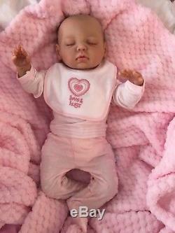 Cherish Poupées Nouveau Bébé Reborn Lulu Faux Bébés Réalistes 18 Réel Lifelike Enfant