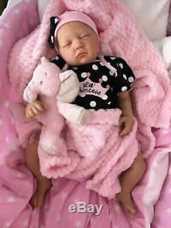 Cherish Poupées Reborn Pas Cher Bébé Princesse 22 Nouveau-né Réel Lifelike Royaume-uni
