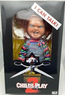 Chucky Action Figure 15 Les Enfants Jouent À Parler Menacing Chucky Doll Mezco