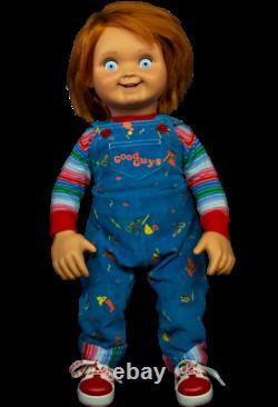 Chucky Child's Play 2 Good Guys Doll Halloween Prop Replica Flambant Neuf