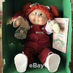 Collection 1983 Cabbage Patch Kid Fille Vintage Doll Boîte Originale Et Vente Accusé De Réception