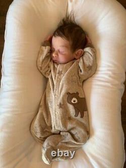 Commande Faite Sur Commande Plein Corps Solide Silicone Nouveau-né Baby Boy Doll Forest Sculpt